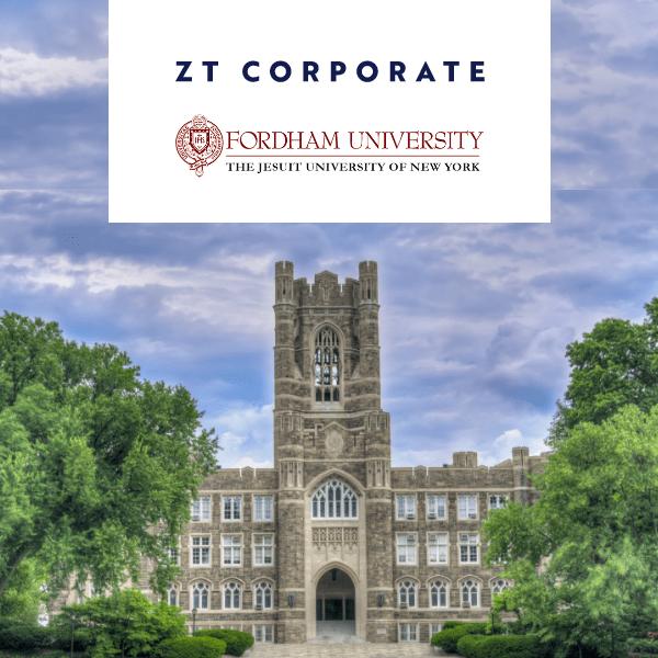 ZT Corporate and Fordham University Partner to Create Internship Program Amid COVID-19's Impact on Education