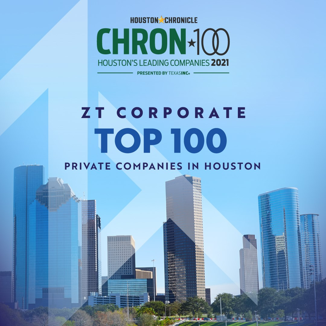 Houston Chronicle Top 100 Private Company in Houston