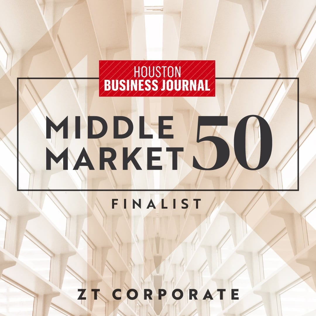 Houston Business Journal Reveals Finalists for 2021 Middle Market 50 Awards